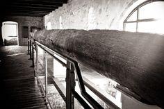primitive boat canoa (museum) Cervarese Santa Croce - Padua - Italy - spring 2014