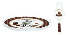Cake stand and cakeserver from Nuova R2S