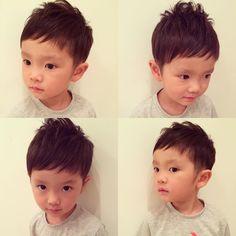 画像に含まれている可能性があるもの:4人 Asian Boy Haircuts, Haircuts For Men, Little Boy Hairstyles, Boy Cuts, Asian Boys, Boy Fashion, Little Boys, Children, Kids