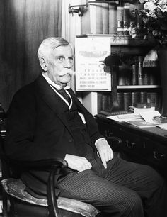 Oliver Wendell Holmes, Jr. 1841-1935 Photograph by Everett