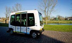 Self-driving buses take to roads alongside commuter traffic in Helsinki