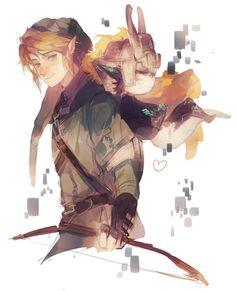 Twilight Princess - Link & Midna