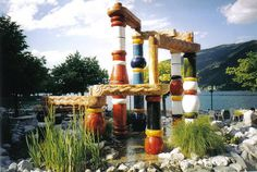 Hundertwasser fountain - Zell am See