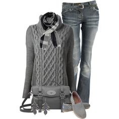 Toms and Jeans, created by jackie22 on Polyvore