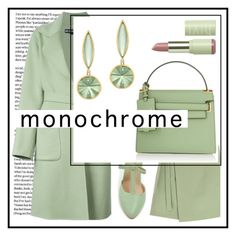 """""""monochrome"""" by sandevapetq ❤ liked on Polyvore featuring Rochas and Valentino"""