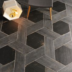 Bring an elegant look to your hallway, kitchen and bathroom with this durable Merola Tile Retro Naveta Cendra Porcelain Floor and Wall Tile. Entryway Flooring, Kitchen Flooring, Tile Entryway, Modern Flooring, Unique Flooring, Tile Flooring, Flooring Ideas, Entryway Decor, Floor Design