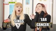 When u sing aloud