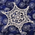 Lots of snowflake patterns