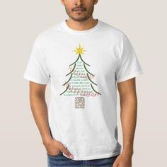 Christian Christmas Tree T-Shirt