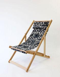 Lockhart Garden Deckchair by gallantandjones on Etsy, $275.00