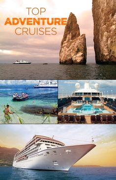 Top 5 Adventure Cruises