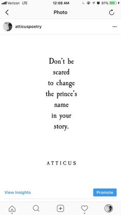 """Princes""    This is a short poem from my new book ""The Dark Between Stars"". The book is available now for presale and releases Sept 4th, 2018.    xx Atticus    #thedarkbetweenstars"