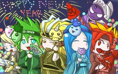 Brave Frontier - Happy New Year by shirodebby on DeviantArt