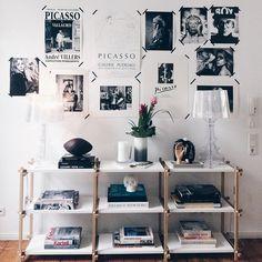 OMG was für eine großartige Wohnung @lena_terlutter ♥️! #themakingofthebook