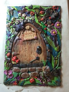 New design polymer clay book cover Polymer Clay Projects, Polymer Clay Creations, Polymer Clay Art, Polymer Journal, Clay Fairy House, Clay Fairies, Clay Tiles, Paperclay, Handmade Journals