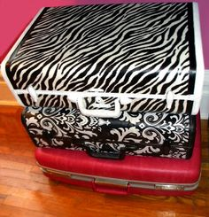 A suitcase Makeover