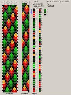 Узоры для вязаных жгутиков-шнуриков | biser.info - всё о бисере и бисерном творчестве