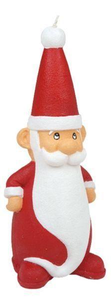 Kerze Santa Claus