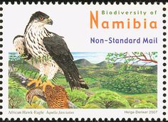 African Hawk-Eagle stamps - mainly images - gallery format