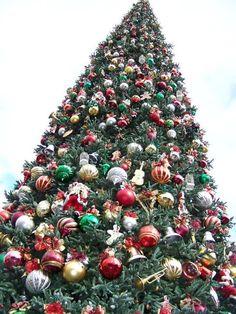 Disney Tree- the ornaments are so big