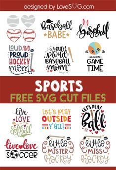 Free SVG cut file for Cricut and Silhouette in SVG, PNG, EPS and DXF formats. This file is absolutely free for personal use. This file… Cricut Fonts, Cricut Vinyl, Svg Files For Cricut, Cricut Tutorials, Cricut Ideas, Free Svg Cut Files, Cricut Creations, Baseball Couples, Baseball Signs