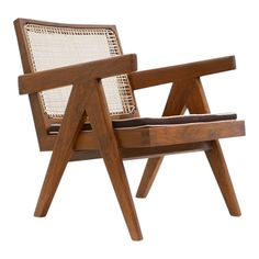 A visionary of modernist architecture and design, Swiss-born architect and furniture designer Pierre Jeanneret worked for most of his l. Pierre Jeanneret, Woodworking Shop Layout, Woodworking Plans, Woodworking Projects, Outdoor Chairs, Outdoor Furniture, Rattan Furniture, Farmhouse Furniture, Lounge Chairs