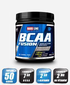 Hardline BCAA Fusion 500 Gr