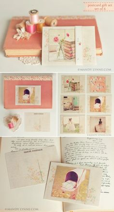 Mandy Lynne postcards