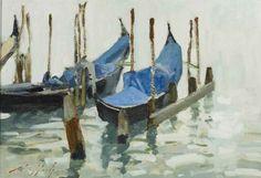 Paul Rafferty   Gondola's, Grey Day