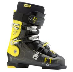 With very roomy lasts, the High Five ski boots provide intermediate skiers with power and responsiveness in a larger footprint for those who prefer extra comfort. Ski Boots, Hiking Boots, Mens Skis, High Five, Wide Feet, Tilt, Skiing, Shoes, Design