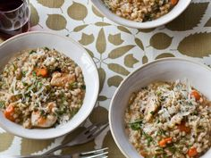 This one-pot dinner from Food and Wine's Gail Simmons is an enriched take on classic chicken soup with rice; at once flavorful, hearty, and comforting.Recipe: Chicken and Barley Stew with Dill and Lemon Hearty Stew Recipe, Stew Chicken Recipe, Chicken Recipes, Chicken Soup, Lemon Chicken, Poached Chicken, Turkey Recipes, Lemon Recipes, Wine Recipes