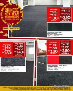 Other for sale, in Klang, Selangor, Malaysia. Chinese New Year promo is running on Office Carpets! Save Now With promo Office Carpet Just From Best Flooring, Carpet Flooring, Office Carpet, Floor Insulation, Ad Home, Quality Carpets, Buy Office, Best Carpet