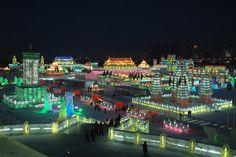Ice Festival- Harbin, China
