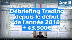 Débriefing Trading depuis le début de l'année 2018   43.500€ - Benoist Rousseau https://www.youtube.com/watch?v=50whSJW4Sa4&feature=youtu.be