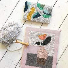 I'm working on a new punch needle project and.... I made a workshop to learn you how to make your own punch needle rug. Check the link! . . #punchneedle #workshop #punchneedleworkshop #rughooking #hetateliervanevav #punchneedleembroidery #amyoxford #amyoxfordpunchneedle
