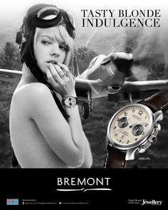 Bremont advertising campaign #bremont British Watchmakers London #horlogerie @calibrelondon