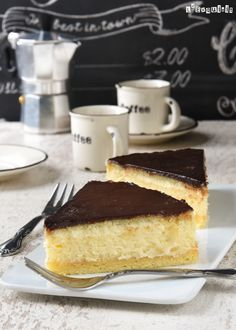 Tarta de queso con crema y chocolate {Boston cream pie cheesecake}