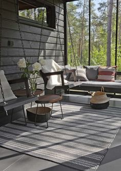 Rustic Cottage, Cottage Style, Outdoor Spaces, Outdoor Living, Outdoor Decor, Outside Patio, Weekend House, Relaxing Places, Scandinavian Home