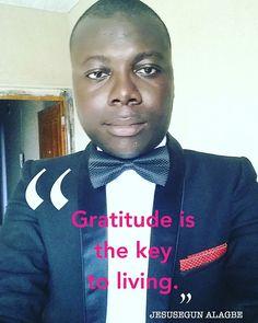 I'm always grateful.