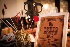 Boardwalk Empire theme party - Photo booth by LMP