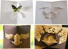 Résultats Google Recherche d'images correspondant à http://papercraftprintable.com/wp-content/gallery/card-crafts/kirigami_pop_up_greeting_cards.jpg
