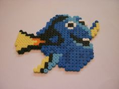 Hama Bead Dory Finding Nemo by OisinHamaDesigns