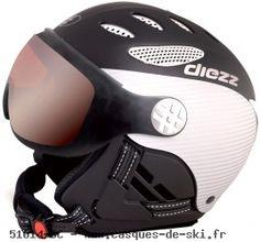 casques de ski diezz joint 3 visiere ventury carbon black. Black Bedroom Furniture Sets. Home Design Ideas