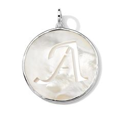 IPPOLITA - Sterling Silver Large Shell Letter - A