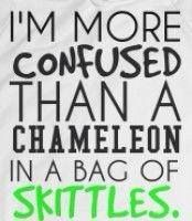 We've all been there at some point. And some of us have never left the Skittles bag.