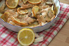 Pollo al limone ricetta light