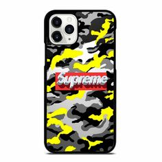 Adidas Backgrounds, Camo Phone Cases, Iphone 11 Pro Case, Silicone Rubber, Supreme, Apple Iphone, Color Black, Printing, Plastic