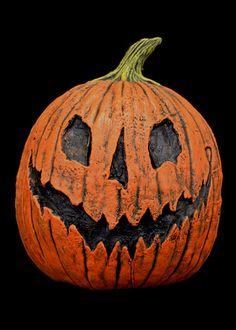 King Pumpkin Halloween Mask, Nightmare Before Christmas Rotting Pumpkin Latex Halloween Mask | TRICK or TREAT STUDIOS - Masks to Die For!