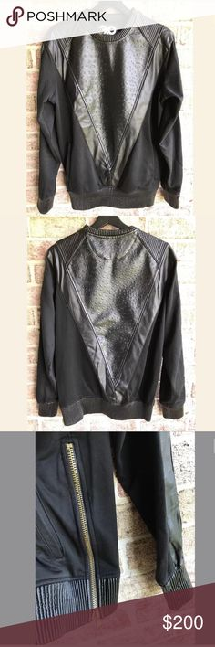 Frost Original Exotic Thrill Faux Leather Large • 60% Cotton  • 40% Polyurethane Frost Orignal Shirts Sweatshirts & Hoodies