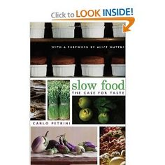 This book takes a look at what many don't know: food that is grown with care and prepared with care actually tastes A LOT better than that same exact food grown without care and prepared in a hurry.